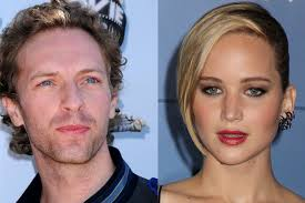 Jennifer Lawrence si Chris Martin