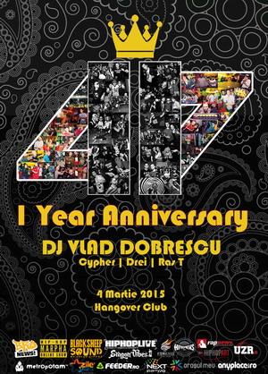 11-47 1 Year Anniversary Poster