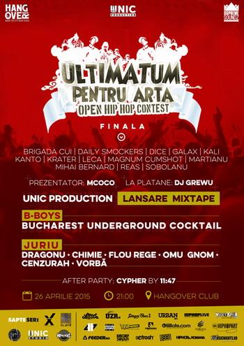Ultimatum Pentru Arta - FINALA 2015